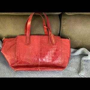 Cynthia Rowley Red Shoulder/Hand Bag